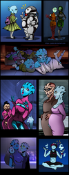 Asari with families and friends by Padzi