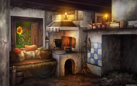 Cinders concept art. Home by vinegar