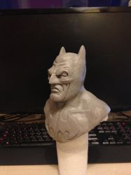 Batman (WIP) Side view by Daryl-Muncaster