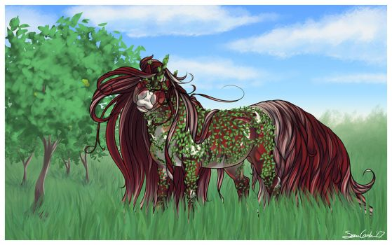 D026 Manzaria || Semi-Wild Boucle Mare by jouroo