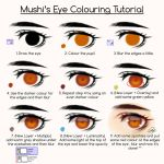 Eye Colouring Tutorial by Mushi by MuiMushi