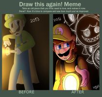 Draw this Again by mariogamesandenemies