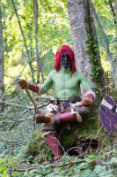 What'you Bother Me For!? - Warcraft Forest Troll by Carancerth
