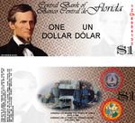 1 Confederate Dollar by pmbasehore
