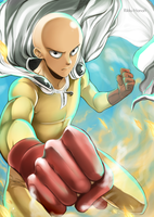 One Punch Man by RikkuHanari