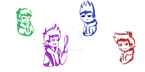 Eddsworld Doodles XD by Lyrica-Clef