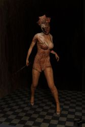 Nurse from Silent Hill: Homecoming   Cycles Render by Rockeeterl