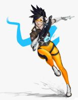 Overwatch - Tracer by PemaMendez