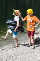 Cosplay One Piece Sanji and Luffy Fishman Island by KSuicune