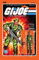 G.I. Joe ARAH #222 Stalker toy comic cover IDW by AdamRiches