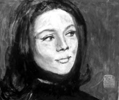 Emma Peel Grey by JimmyDemello