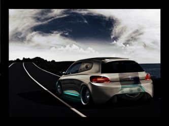 VWScirocco'Street menace' v2 by enth3os