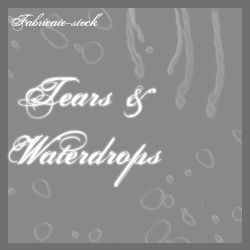 Tears and Water Drops by fabricate-stock