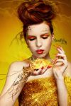 Electric Gold by CreartisteA