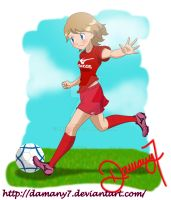 Serena Futbolista / Serena player Soccer by Damany7