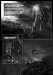 Tunnel Ground Comic sample page 2 by TunnelGround