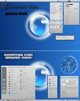 Elementary Style Gnome Shell and Cinnamon Theme by rvc-2011