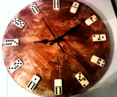 Domino clock by DrowicA