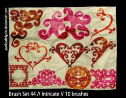 Brush Set 44 - Intricate by punksafetypin