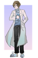 [Commission] Dr. D'Johnathan Sawbones~ by M-F-W