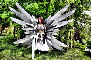 Erza Scarlet Cosplay 09 by HellDolly