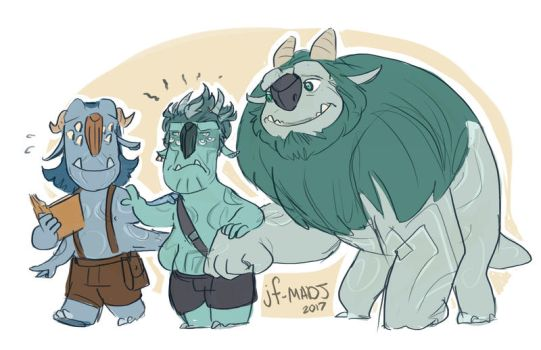 Troll Hunters- Helping DIC-tatious by MadJesters1