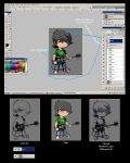 chibi me tutorial by darkeyez07