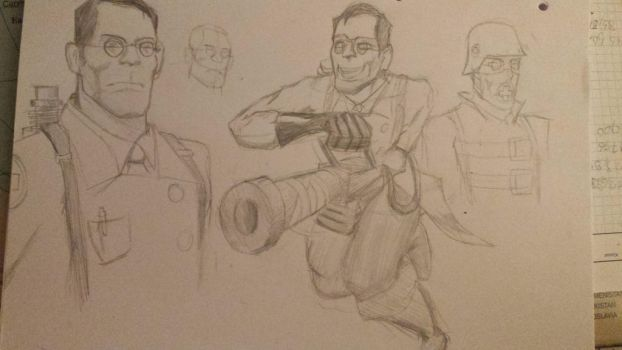The medic by Butterface27