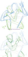 James and Michael - step by step by LillayFran
