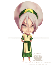 Chibi Toph the Hermit by Mystaira