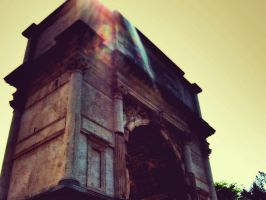 Rome - Arch Of Titus by Starshadowx2