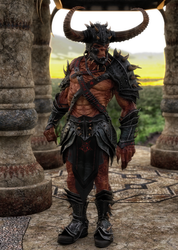 Demon Warlord by scifigiant