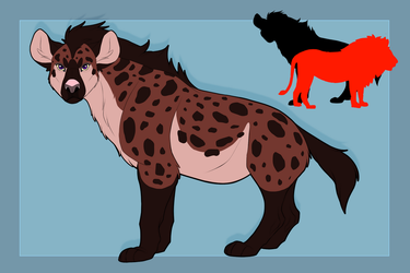 Matriarch: The Spotted Forest Hyena by blueharuka