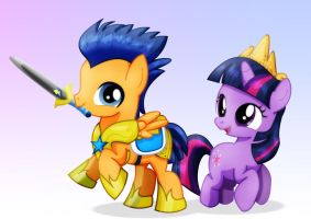 Flashlight_foal and filly by jucamovi1992
