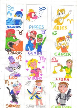 Gamers Zodiac by Emily011