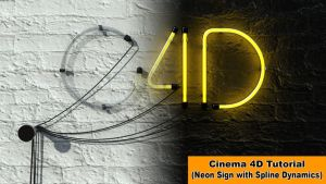 Create a Neon Sign (Cinema 4D Tutorial) by NIKOMEDIA