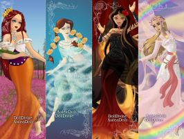 Four Elements: Tudor Wives by HC-IIIX