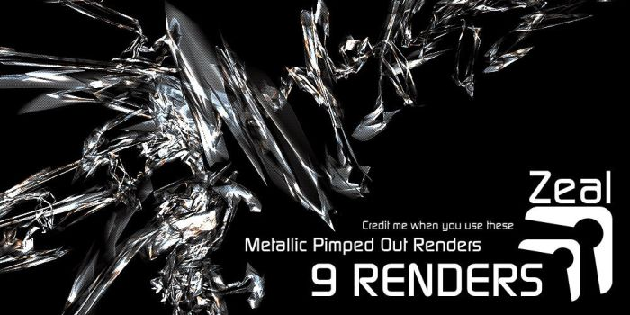 Metallic Pimped Out Renders by thedobofdob