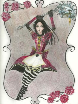 Alice Madness Returns by twilightprncs