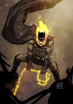 Bat Ghostrider by Ultrafpc