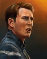52 Portraits #35: Captain America by rflaum