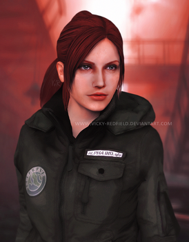 Claire Redfield terrasave outfit by VickyxRedfield