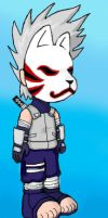 Chibi ANBU Kakashi by ShadowDragonBoss