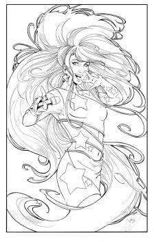 Jem Pin Up by JenBroomall