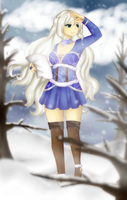 [FT] COM: ''Noelle, The Winter Sorceress!'' by rebecca0105