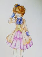 Anime Lolita (Colored) by scarletart99
