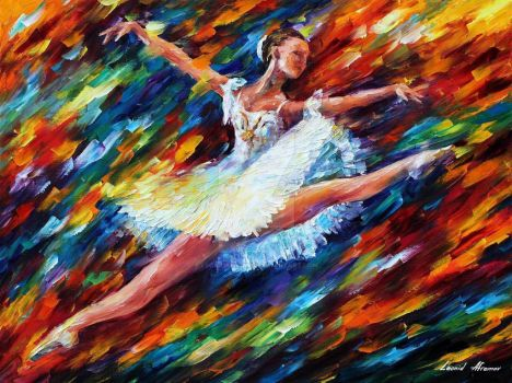 Elation 2 by Leonid Afremov by Leonidafremov