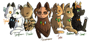 The Seven Guardians by SaltyBanana