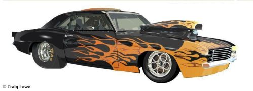 Custom Race Car by Craig-Lowe
