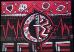 Emo Knife Red and Black by mintdawn